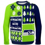The NFL has seen big merchandise sales thanks to an expanded product offering, like this Holiday sweater. (image via NFL Shop)