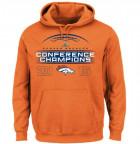 A Denver Broncos AFC Championship sweatshirt; Image via Heavy