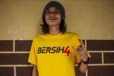 A Bersih 4 T-shirt; Image via The Malaysian Insider