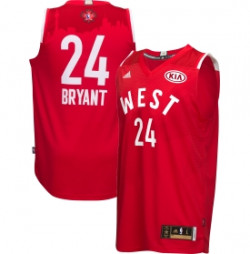Kobe Bryant's All-Star Game jersey with Kia logo; Image via Dick's Sporting Goods