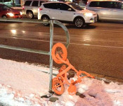 An Orangetheory Fitness bike in London, Ontario; Image via London Free Press