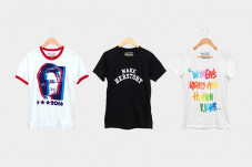 Hillary Clinton's new T-shirts; Image via GQ