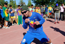 Manny Pacquiao in Nike apparel; Image via Twitter