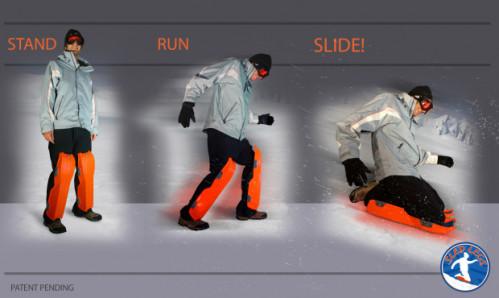 Image via Sled Legs' Indiegogo Campaign