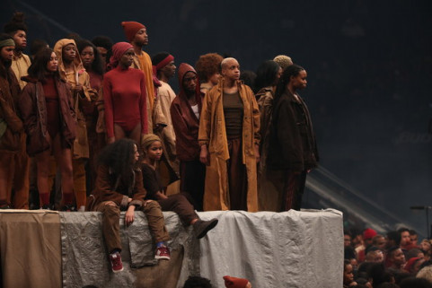 Kanye West's new fashion line image via The New York Tomes