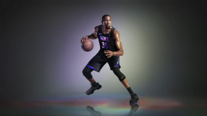 Kevin Durant in the new Nike jersey image via Racked