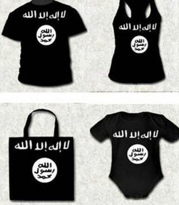 Various ISIS-branded merchandise; Image via Business of Fashion