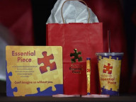 An example of a gift bag purchased by the Texas government; Image via KHOU 11 News