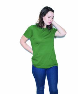 American Apparel's Organic Fine Jersey Classic Woman's T-Shirt.