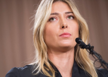 Maria Sharapova announcing her failed drug test result; Image via Twitter