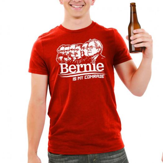 Bernie is my comrade T-shirt. (Image via Liberty Maniacs)
