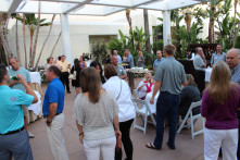 Attendees mingle at Promo Marketing's Power Meeting