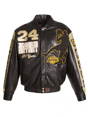 Kobe lambskin jacket. (Image via AEG)