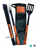 BBQ Now Apron and 3 Piece BBQ Set from Marketability Inc.