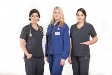 Aegle Gear introduced new antimicrobial workwear for medical professionals with athletic attributes. (Image via Times Free Press)