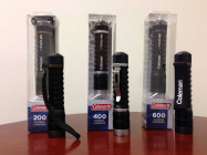 Coleman announced that it is recalling three models of its CTAC Lithium-Ion flashlights. (Image via CPSC)