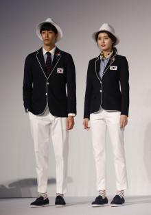 The South Korean Olympic team will sport anti-Zika virus uniforms. (Image via The Associated Press)