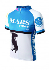 Men's Short Sleeve Bicycle Jersey by FPS Apparel