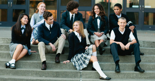 Schools in the U.K. are taking steps to make school uniforms more gender-neutral. (Image via fashiondivadesign.com)