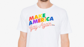 American Apparel teamed up with The Human Rights Coalition and The Ally Coalition