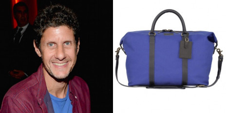Mike D from the Beastie Boys designed what he calls 'grown man' bags. (Image via Pitchfork)