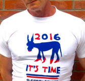 The DNC T-shirt designed by