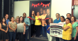 Prime Line celebrated the addition of its new production hub.