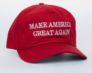 A campaign merchandise seller said he's sold out of Trump items for the first time in his career. (Image via Trump's online store)