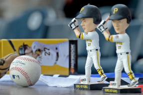 The Pittsburgh Pirates went through with a promotion featuring Jung Ho Kang, the subject of a sexual assault investigation, but offered fans an alternative promotion. (Image via Pittsburgh Post-Gazette)