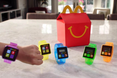 McDonald's has stopped giving away these fitness trackers due to reports of skin irritation. (Image via NBC News)