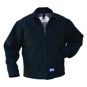 Distributors also need to pay attention to the weather conditions to provide exactly what their clients and end-users are looking for, like this Dearborn Jacket from Pella Products Inc.