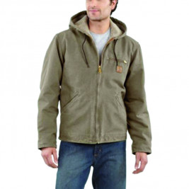 Distributors should look into providing name-brand products for their clients, like this Carhartt Men's Sierra Jacket from Rugged Outfitters.