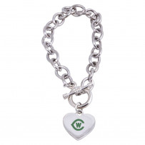 Toggle Heart Bracelet by The Premium Line