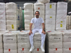 Dov Charney, founder and former CEO of American Apparel, is getting his new apparel company off the ground in South Central Los Angeles. (Image via Twitter)