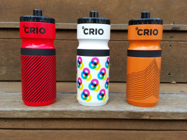 The Crio water bottle includes a layer of cryogel insulation, which is used by NASA for