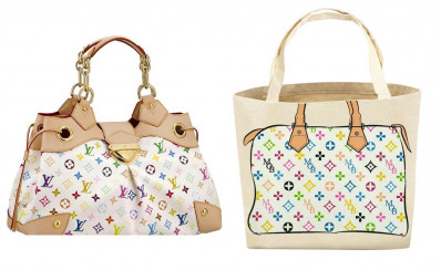 An appeals court found that My Other Bag's design fit the guidelines to be parodies, and did not infringe on Louis Vuitton's copyrights and trademarks. (Image via New York Daily News)