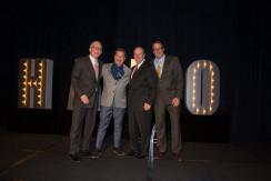 Marc Simon, CEO; Bob Southard; Dale Limes, senior vice president of sales; Jim Stutz, executive vice president of sales and business development.