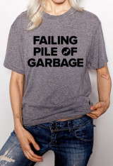 "Buzzfeed sold ""Failing Pile of Garbage"" shirts and donated the proceeds to"