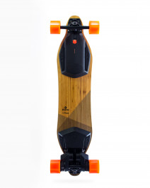 Boosted is recalling this battery-powered skateboard due to a fire hazard. (Image via CPSC)