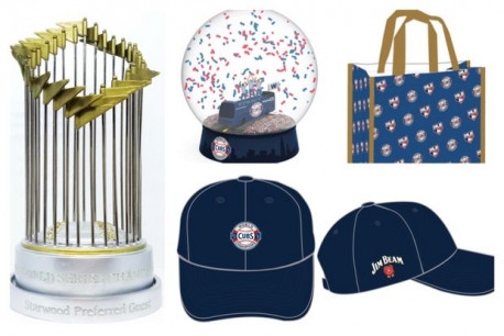 The Chicago Cubs have some fun, World Series-themed giveaways planned this season. (Image via Chicago Cubs/DNA Info)