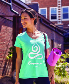 Promotional T-shirts, like this one from Hanesbrands, are sure to turn heads. (Image via Hanesbrands)