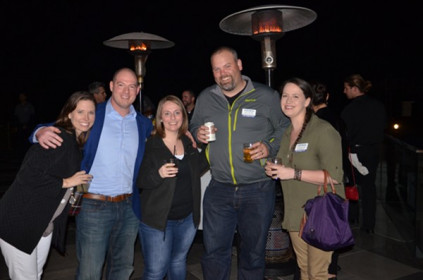Distributors and suppliers enjoyed dinner and drinks at Coaster Terrace after the first day of meetings.
