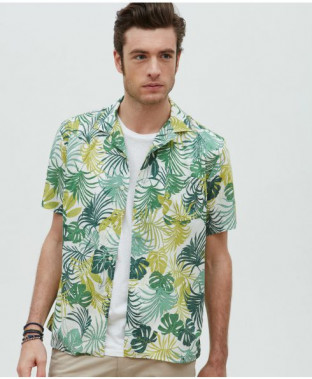 You're sure to like Pina Coladas and getting caught in the rain in this shirt. (Image via Hartford)