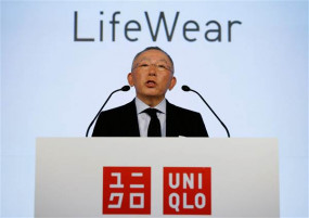 Tadashi Yanai, chairman and president of Fast Retailing Co., said Uniqlo would close all U.S. stores if Trump's manufacturing bill passes. (Image via NBC News)