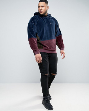 Asos was one of the first retailers to release a trendy plus-sized menswear collection. (Image via Asos)