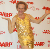 Richard Simmons might come out of hiding after new merchandise launches. (Image via Angela George/Wikimedia Commons)