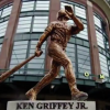 The Seattle Mariners earned the top spot for this Ken Griffey Jr. replica statue. (Image via Twitter)