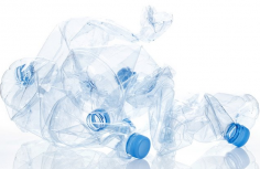 A small percentage of major soft drink companies' bottles are made from recycled material. (Image via Twitter)