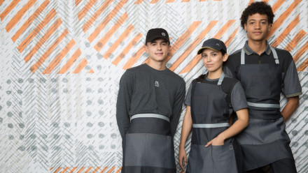 new McDonald's uniforms