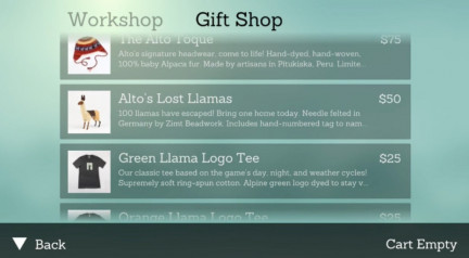 Shopify's new format allows gamers to buy branded merchandise in the game. (Image via Venture Beat)